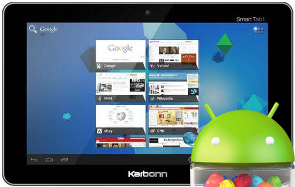 "Karbonn Smart Tab 4 With Android 4.1 And 9.7"" Screen Will Launch In September For Rs 11,000"