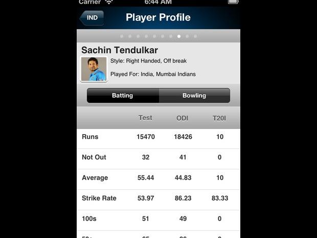 Download: Yahoo! Cricket | TechTree com