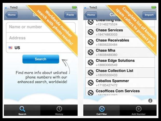 Download: TrueCaller (Android, BlackBerry, iOS, Symbian, Windows