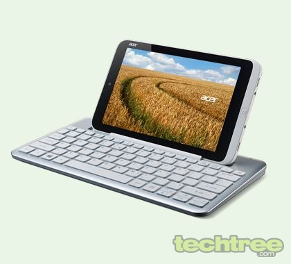 "Acer Unveils Iconia W3, First Windows 8 Tablet With 8"" Screen"