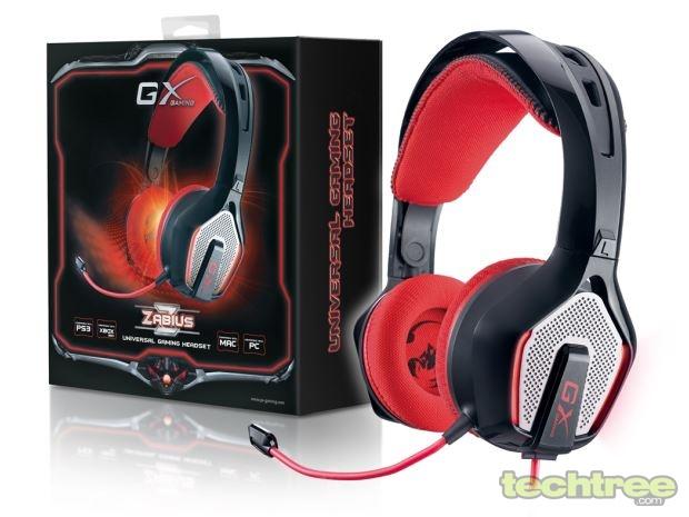 Genius Launches Zabius Gaming Headset For Rs 4990