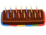 Google Turns 14, Celebrates With A Cake-Themed Doodle