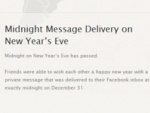 Facebook's Midnight Message Delivery For New Year's Eve Suffers From A Major Security Hole