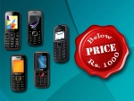 5 Mobile Phones That Can Be Bought For Less Than Rs 1000 In India