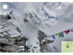 A Peek Of The Mount Everest And The Kilimanjaro With Google Maps