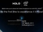Xolo Fastest Smartphone Reveals Tomorrow