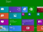 Start Button Predominantly Visible in Windows 8.1 Screenshot