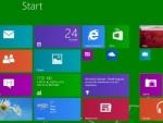 Start Button Predominantly Visible in Windows 8.1 Screenshot