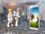 Do You Own A Samsung GALAXY S4? Keep A Fire Extinguisher Handy