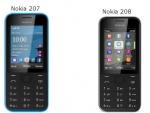 Nokia Announces Budget 3G Phones: 207 And 208