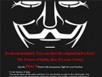 Anonymous Turns To Mizoram, Blocks Govt Websites