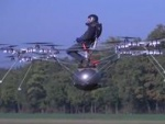 German Pilot Flies Multicopter