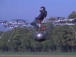 German Pilot Flies Multicopter