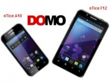 DOMO Launches nTice F12 And nTice A10 Smartphones