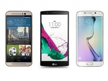 Battle Of The Flagships: LG G4 Vs HTC One M9 Vs Samsung Galaxy S6 Edge