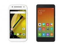 Xiaomi Redmi 2 Prime Vs Moto E (2015)
