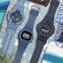 Casio Launches Trendy DENIM'D COLOR Watches