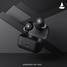 boAt launches 'Airdopes 501 ANC' – Hybrid Active Noise Cancellation TWS Earbuds with ENx, BEAST™ and ASAP Charge Technologies