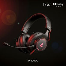 boAt ready to sail into Gaming with their first Gaming Headphone- Immortal 1000D featuring Dolby Atmos