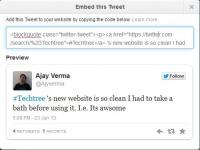 Embedding Tweets Just Got Easier