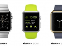 Apple Watch versions — Group shot