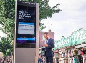London Just Got Free Gigabit Wi-Fi Kiosks