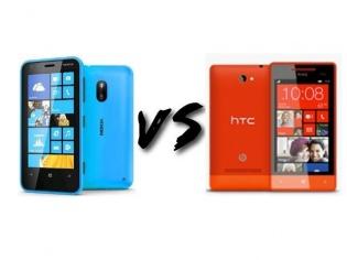 Preview: Nokia Lumia 620 Vs HTC 8S