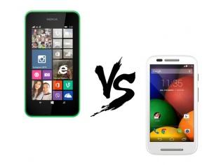 Budget Battle: Nokia Lumia 530 Vs Moto E