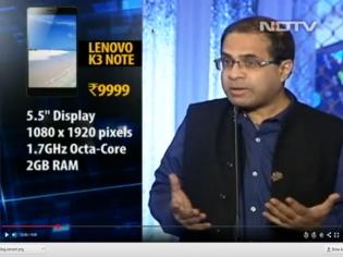 Lenovo K3 Note Tops NDTV Shootout