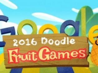 Google Celebrates Rio Olympics With Fruit Doodle